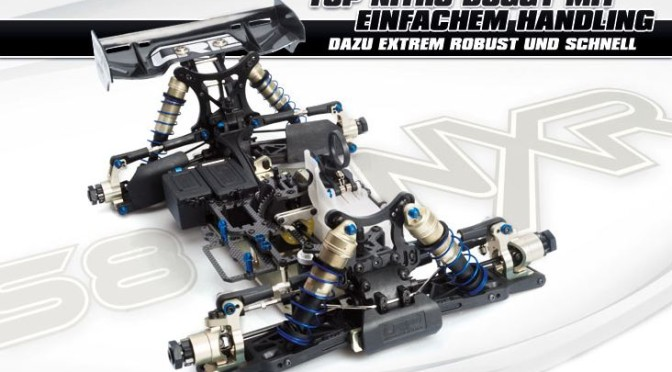 LRP S8 NXR – 1/8 Nitro 4WD R/C Offroad Competition Buggy