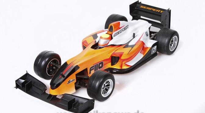 Die Welt der kleinen Formel 1 Flitzer – Neues Produktvideo vom Serpent F110 SP2