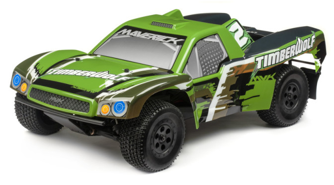 Timberwolf RTR 1/10 4WD Brushless Short-Course Truck