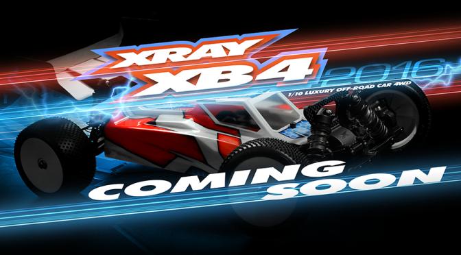 Der XRAY XB4 2016 kommt…