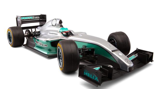 Protoform zeigt neue Formelkarosserie