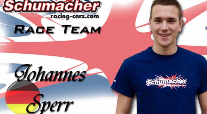 JOHANNES SPERR SIGNS SCHUMACHER RACING