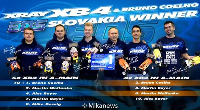 XB4`16 gewinnt beim EOS – Bruno's Bericht