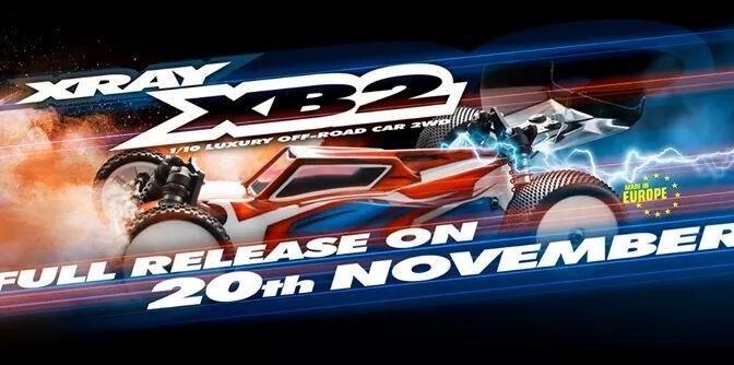 Xray XB2 schon versandfertig