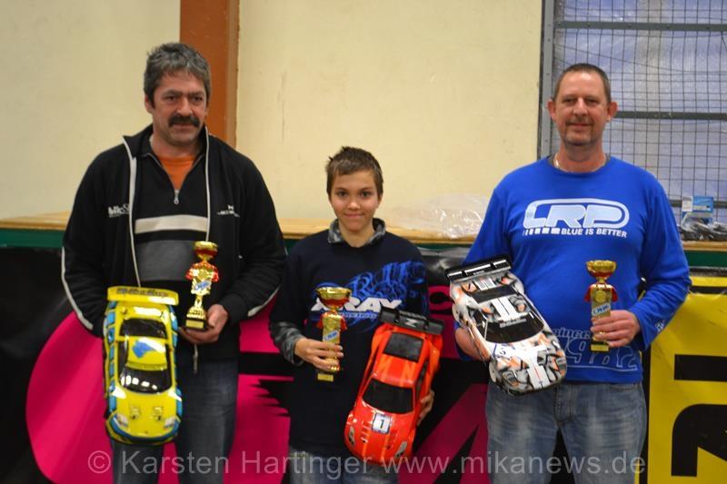 Sieger GT (v.l.n.r.): Harald Schramm, Heiner Thiersch, Matthias Bareuther
