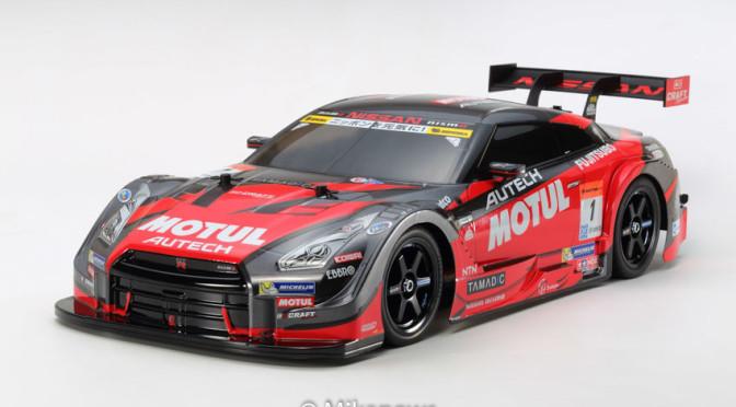 1:10 RC MOTUL Autech GT-R (TT-02)