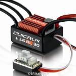 QuicRun Regler WP16BL30 Brushless 30A Sensorless 1/16