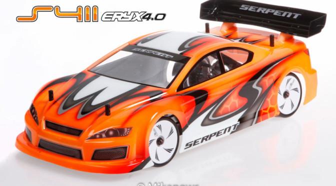 Serpent Eryx 4WD TC 1/10 4.0 kommt in 2 Versionen