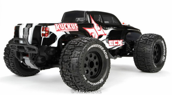 Ruckus 1/10 2WD Brushless Monstertruck mit AVC-Technologie