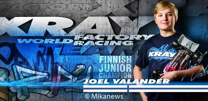 Joel Valander wechselt zu XRAY