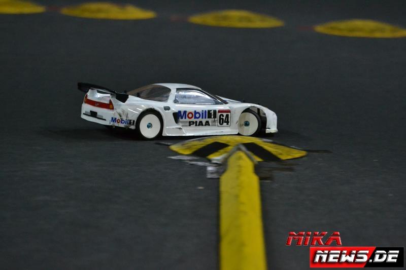 Ein schöner Honda NSX war in der GT-Klasse zu sehen.