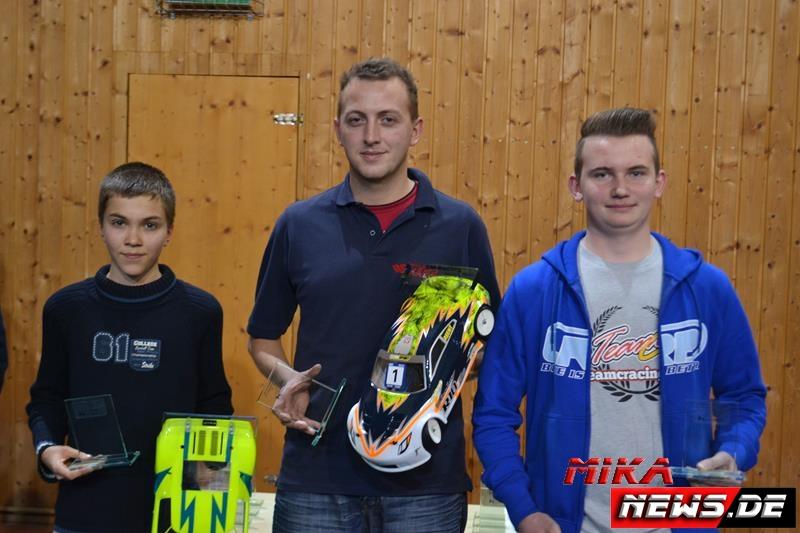 Sieger GT (v.l.n.r.): Heiner Thiersch, Daniel Pöhlmann, Enrico Jung