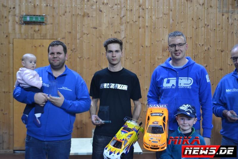 Sieger Stock (v.l.n.r.): Matthias Reber, Johann Thiersch, Steffen Stein