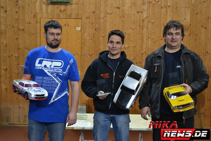 Sieger Classic (v.l.n.r.): Andreas Rudolph, Jens Ackermann, Manfred Beß