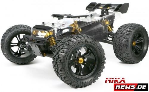 Messeneuheit – Team Magic E6 III BES 1/8 Monstertruck
