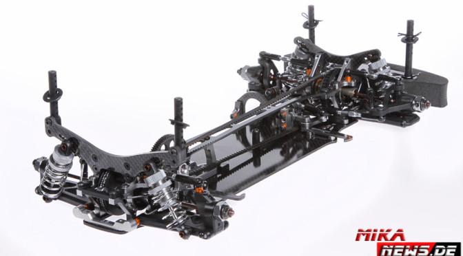 Offizielle Vorstellung des Serpent ERYX 4.0 mit Kohlefaser-Chassis