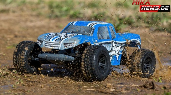 AMP 1/10 Monstertruck RTR-KIT von ECX