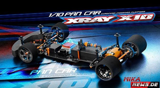 Team Xray stellt den X10`16 vor