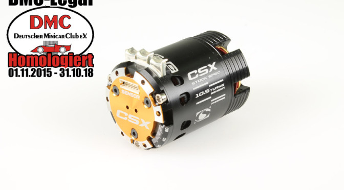 CS-ELECTRONIC PRÄSENTIERT DEN DMC LEGALEN STOCK MOTOR 10.5 Turn