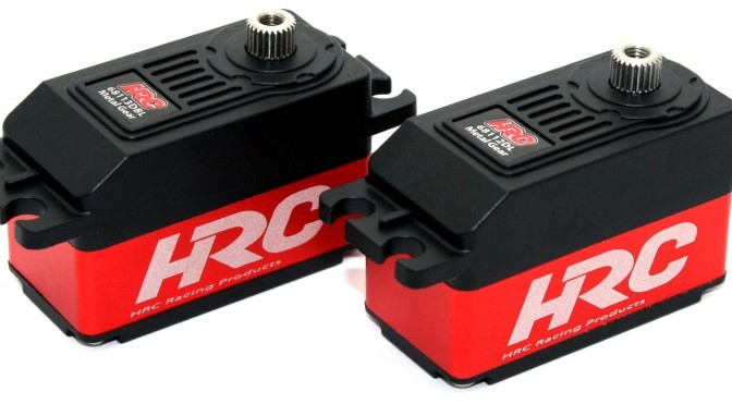Neue digitale Low Profile Servos von HRC Racing