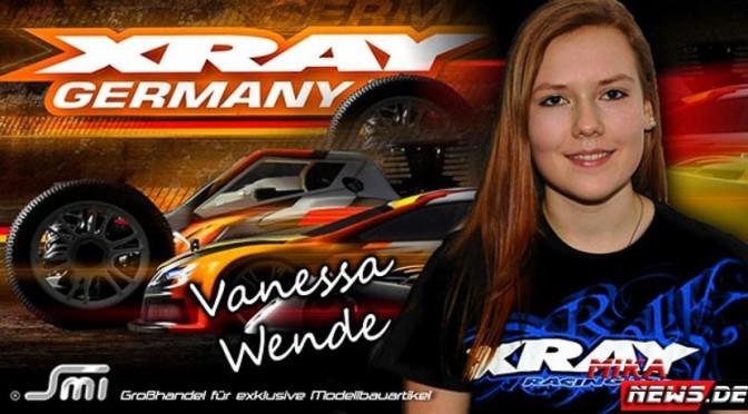 Vanessa Wende weiter mit SMI, Xray …