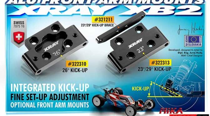 XB2 Aluminium-Querlenkerhalter unten