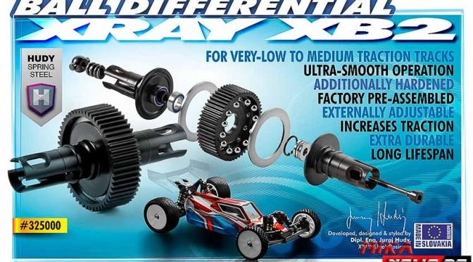XB2 Kugeldifferenzial – Set – Hudy Spring Steel ™