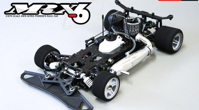 Neuer Mugen MRX6 1/8 – Verbrenner Glattbahn-Fahrzeug