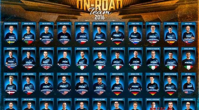 Xray Onroad-Team 2016