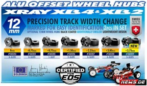 Xray_v_36535x Alu Offset Wheel Hubs 12mm_new 2016