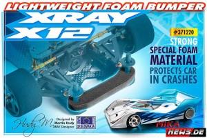 Xray_v_371220 Foam Bumper_news