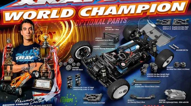 XRAY XB4`16 – Das Fahrzeug des Weltmeisters in Details