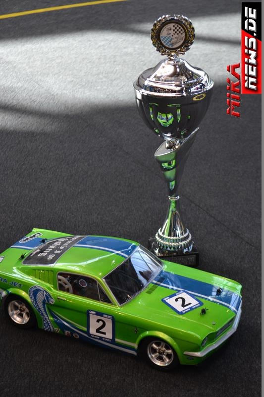 die schnellste Cobra in Classic- der siegreiche HPI Sprint 2 von Dirk Flachmann