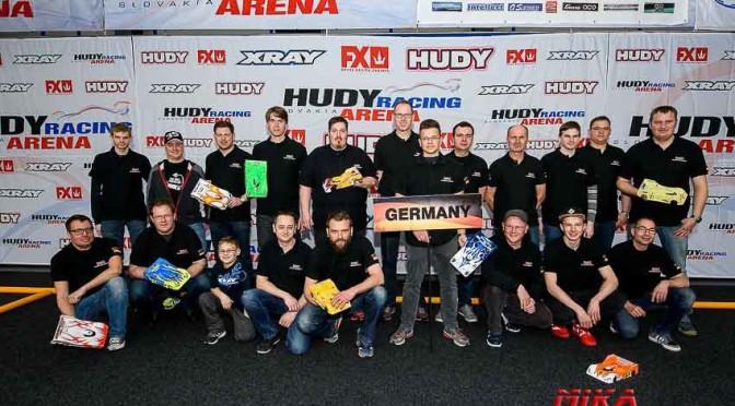 Europameisterschaft 1/12 in der Hudy-Arena – Finalaufstellung