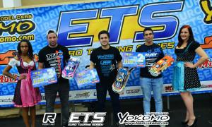 Gewinner Modified, von links: Marc Rheinard (3), Ronald Völker (1) und Bruno Ceohlo (2).