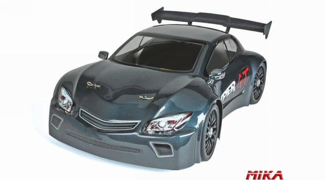WP HYPER GT 1:8 On-Road Elektro grau