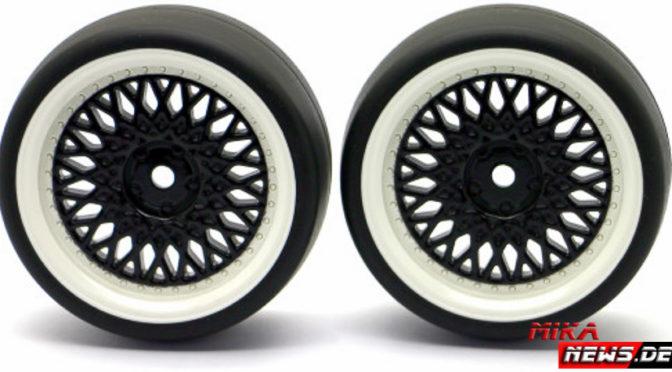HRC Racing präsentiert Drift Reifen auf neuen Felgen