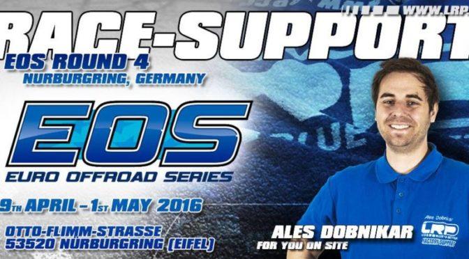 """""""blauer RC-Engel"""" beim EOS – LRP-Teammanager Ales Dobnikar bietet Support vor Ort"""
