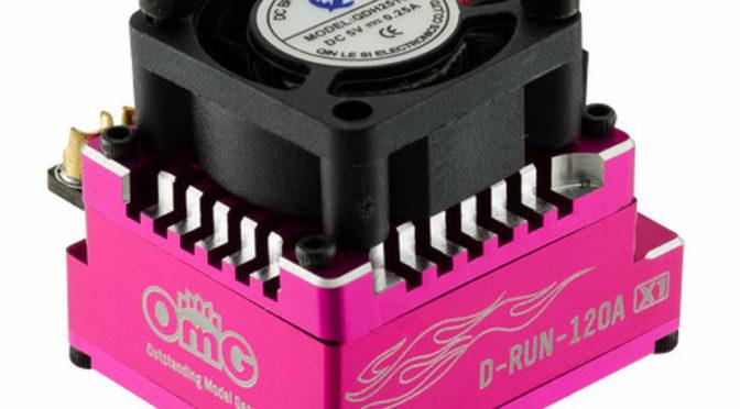 D-Run 120A Fahrregler von OMG