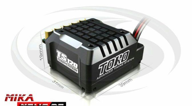 SKYRC 1/10 Toro TS 120A Brushless Regler