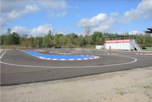 Strecke des RC-Speedracer
