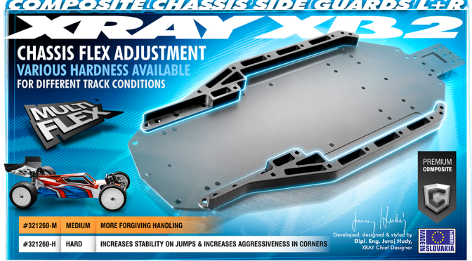 XB2 Composite-Chassis – Seitenschutz L + R