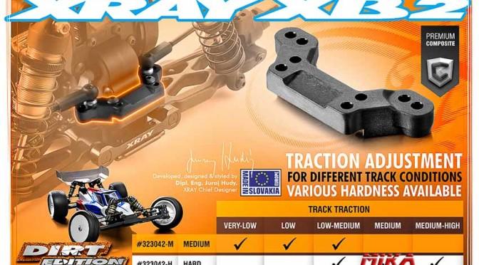 XB2 – Dirt Edition – Querlenkeraufnahme hinten oben