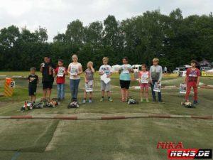 RC Kids Race Teilnehmer/-innen bis 12 Jahre