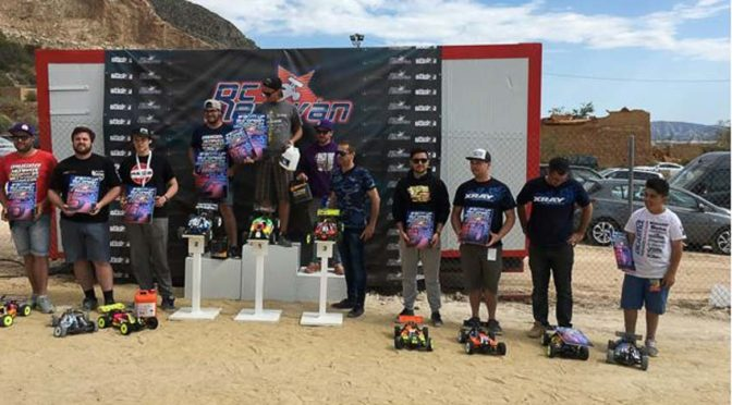EFRA EURO WARM-UP RACE OR8 in Spanien