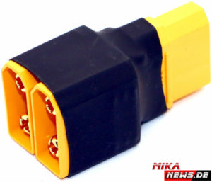 HRC9182C Compact Adapter for 2 Battery Packs in Parallel – XT90 Plug