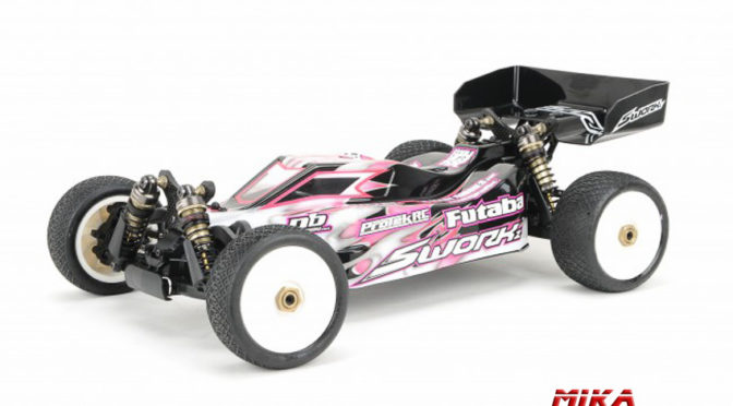 "SWORKz S104 EVO ""EOS"" 1/10 Off-Road Racing Buggy PRO Kit"