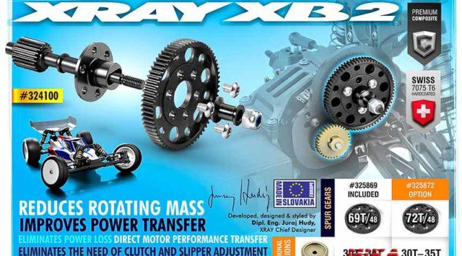 Xray XB2 – Direktantrieb ohne Slipper
