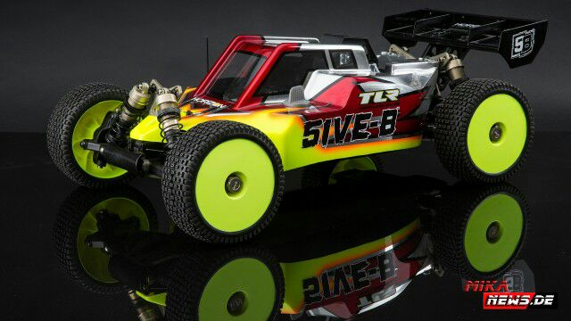 Big. Bigger. 5IVE-B – das TLR 1/5 Buggy Racing Kit für Hardcore-Racer.