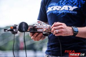 Reifenwärmen gehört in der Klasse Formel 1 dazu